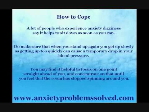 Anxiety Dizziness and How to Deal with It.wmv