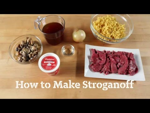 How to Make Beef Stroganoff