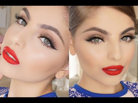 Modern take on Classic Hollywood Glam ・ Makeup Tutorial