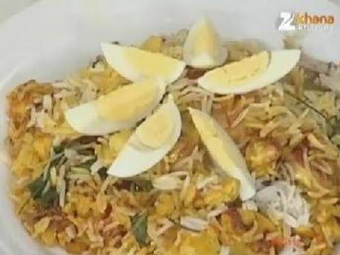 Quick Chicken Biryani - Sanjeev Kapoor - Khana Khazana