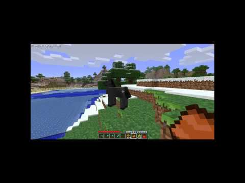 [HD]Minecraft-How To Tame A Horse