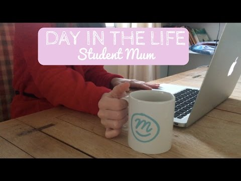 DAY IN THE LIFE | Student Mum