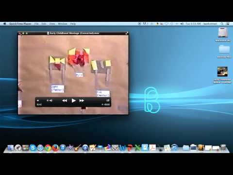 Editing Video and Reducing File Size with QuickTime (Mac Version)