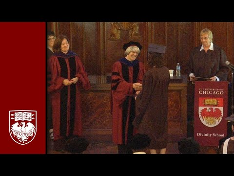 Divinity School Diploma and Hooding Ceremony
