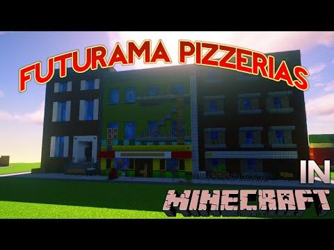 Minecraft: Futurama Panucci's Pizza Tour