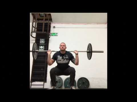 3/4 Barbell Squat INJURY PROOF & CONDITION YOUR KNEES!!