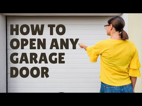 How To Make Any Garage Door Open With A Remote Or Universal Remote