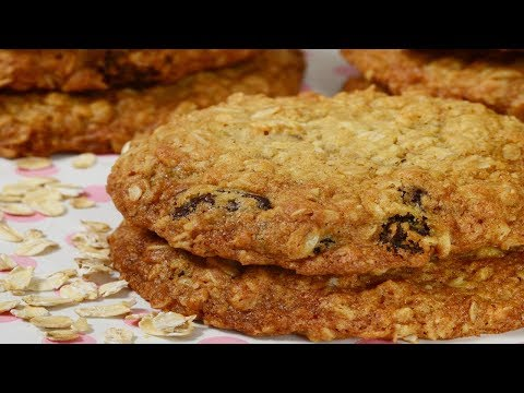 Oatmeal Raisin Cookies Recipe Demonstration - Joyofbaking.com