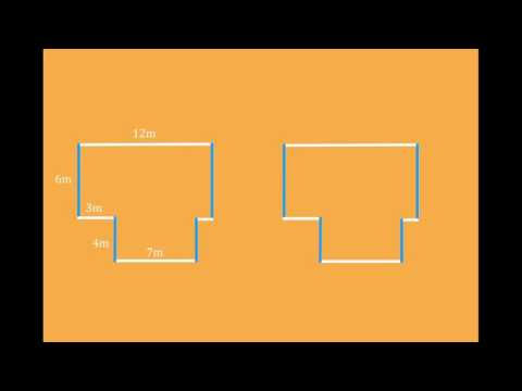 The Easy Way to Find the Perimeter of Compound/Composite Shapes - Rectangles and Squares