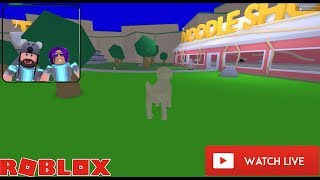 NOODLETOPIA HANGOUT GRAND OPENING LIVE!!!!   ROBLOX