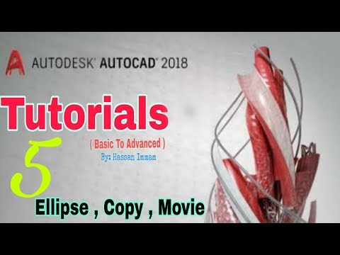 Autocad Tutorial in Hindi Full For Beginners Civil, Mechanical 3d 2017/2018 - Autocad tutorial  [5]