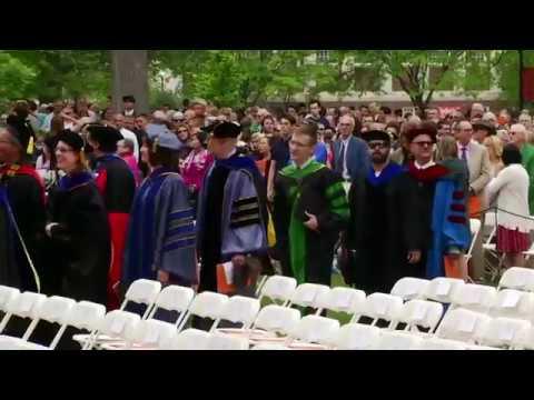 Gettysburg College Commencement 2017 - Full ceremony
