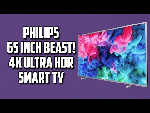Crazy Philips 65inch Smart 4K Ultra HD TV with HDR
