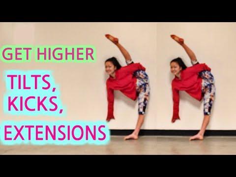 How To Improve TILTS, KICKS, EXTENSIONS, & Leg Flexibility!