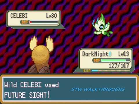 Pokemon Shiny Gold B5 Walkthrough Part 42: How to catch Celebi!!