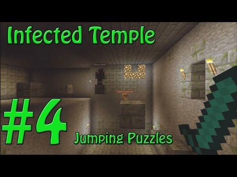 Minecraft Xbox - The Infected Temple - Failed Parkour! - Part 4