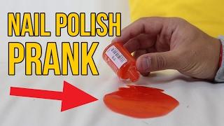 NAIL POLISH PRANK