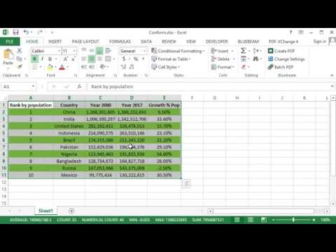 How to Highlight Every Other Row in Excel
