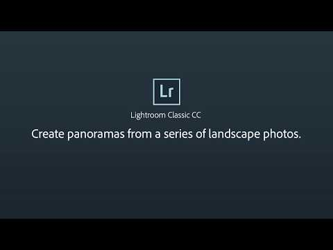 Create Panoramas From a Series of Landscape Photos