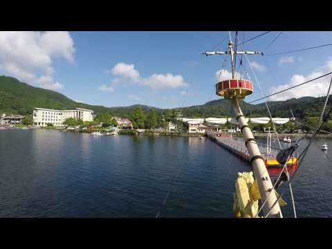 Ashi lake boat (箱根海賊船)