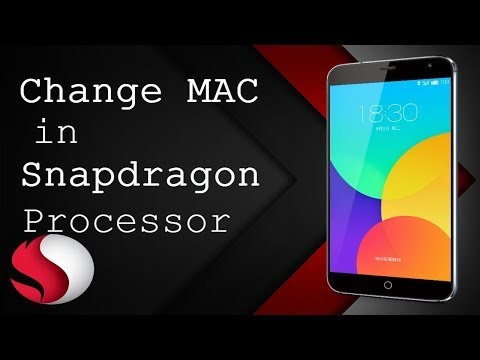 Change MAC in ANDROID (snapdragon processor)