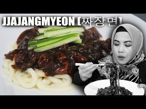 Masak & Makan JJAJANGMYEON (짜장면) / Black Bean Noodles HALAL