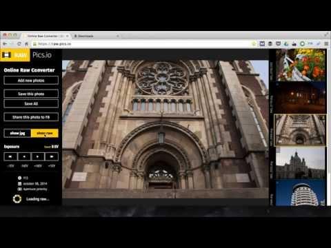 How to convert CR2 and NEF photos to JPG – Raw.pics.io tutorial