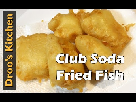 How to Make Club Soda Fried Fish - Cook It