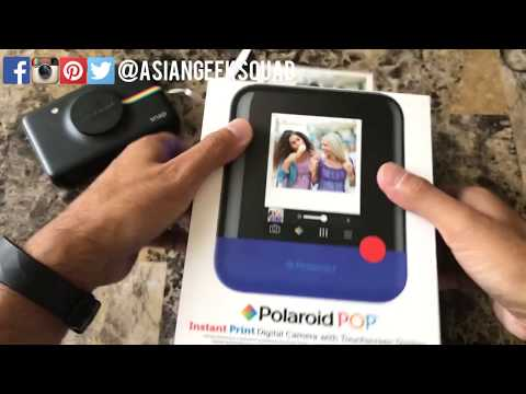 Unboxing and Setup of the Polaroid POP!