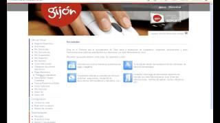 Oficina Virtual: Certificado de empadronamiento