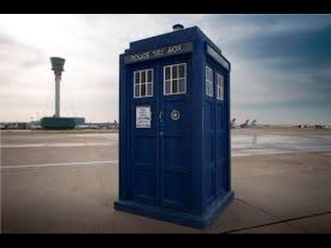 My Cardboard TARDIS!