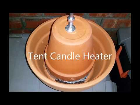 Tent Candle Heater