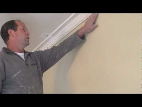 How to fill or fix large cracks or gaps when preparing a ceiling for painting