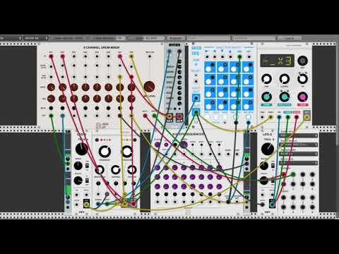 Generative Ambient Music in VCV Rack v0.5.0