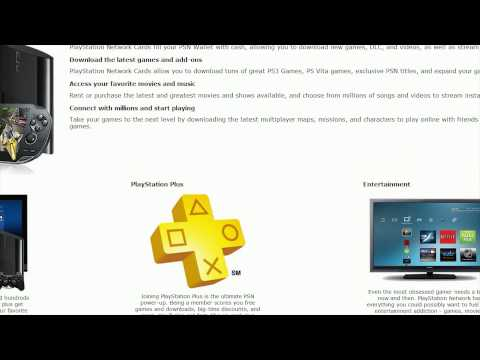 PSN - How to buy and use Playstation Network Codes and PSN+