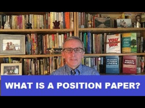 What is a Position Paper?