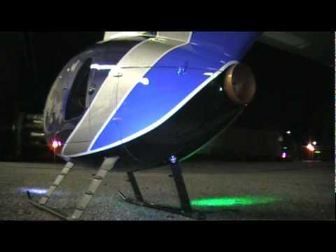 Hughes MD500E 450 Scale fuselage w/ EXI 450 (T-Rex 450 clone