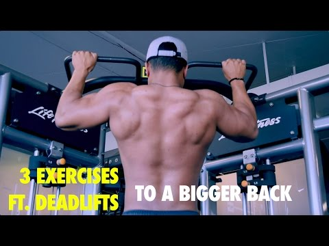 MM 7: How to Build a Bigger & Wider Back | 3 Back Exercises You Should Try