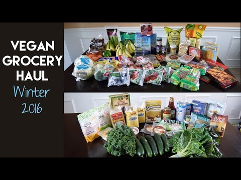 Vegan Grocery Haul: Winter 2016 & Collab with Healthy Grocery Girl