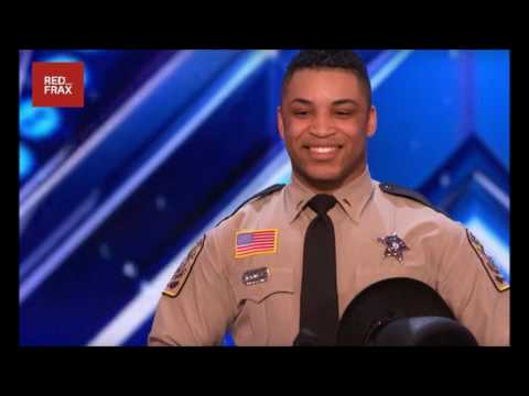 WHAT THIS COP DOES WILL SHOCKED YOU on 'America's Got Talent' 2017
