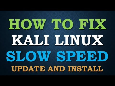 How To Solve Slow Internet Speed Problem In Kali Linux 2018.1 - Flawless Programming