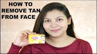 Learn How to Remove Tan from Face using Fem De-Tan Bleach/INDIANGIRLCHANNEL TRISHA