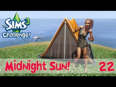 The Sims 3: Midnight Sun Challenge Ep.22- Fishes, Wishes...And Ice Sculpting?