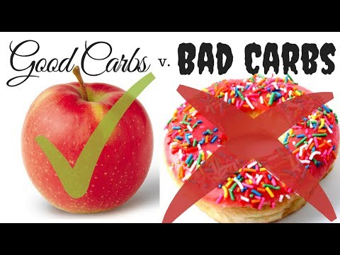 GOOD Carbs 😇 v. BAD  Carbs 👿