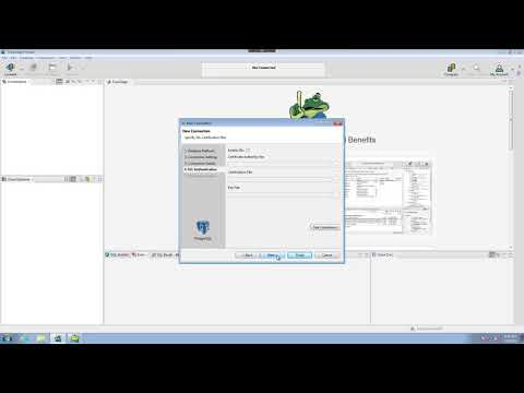 Connections in Toad Edge PostgreSQL Technical Preview