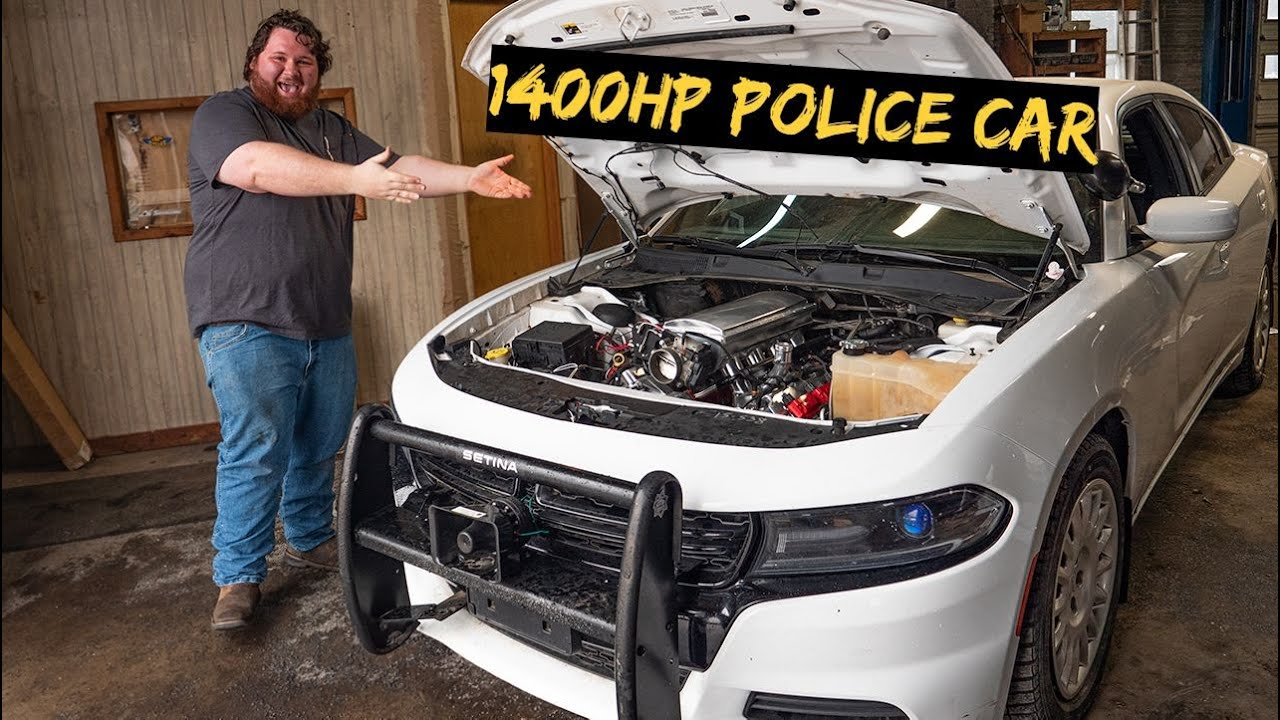 We Fire Up the 1400HP AWD Police Car (ITS ALIVE)