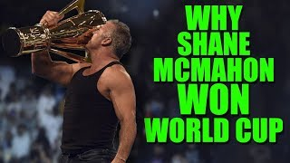 The Real Reason Why Shane McMahon Won WWE World Cup At Crown Jewel