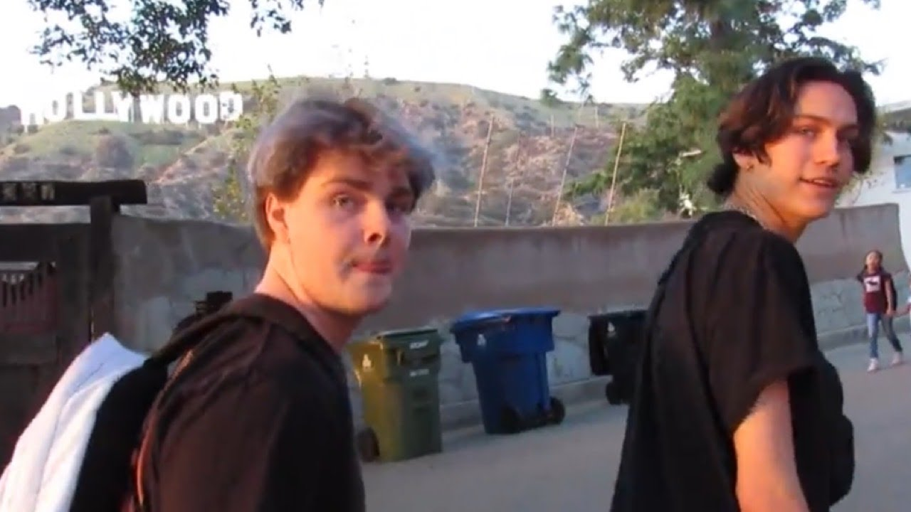 Hype House Takes The Hollywood Sign - Hootie Hurley