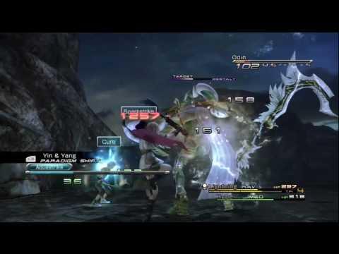 Final Fantasy XIII - Odin - [Eidolon Battle]