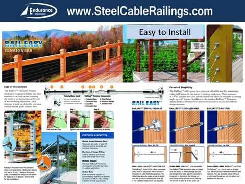 steel cable railings